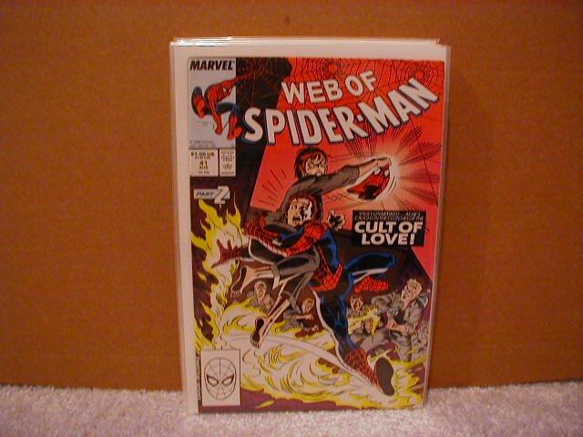 WEB OF SPIDER-MAN #41 F/VF