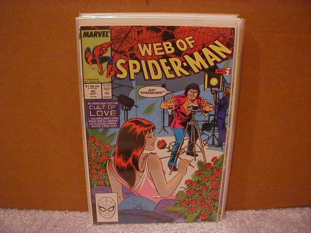 WEB OF SPIDER-MAN #42 VF/NM