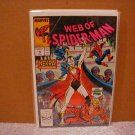 WEB OF SPIDER-MAN #46 VF