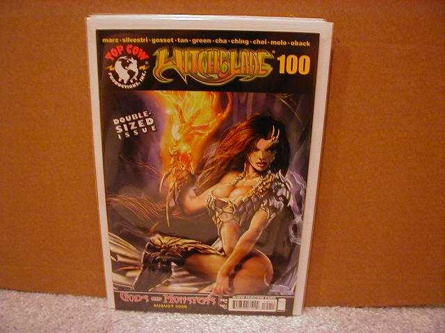 WITCHBLADE #100 VF/NM  �MICHAEL TURNER COVER� DOUBLE SIZE ISSUE