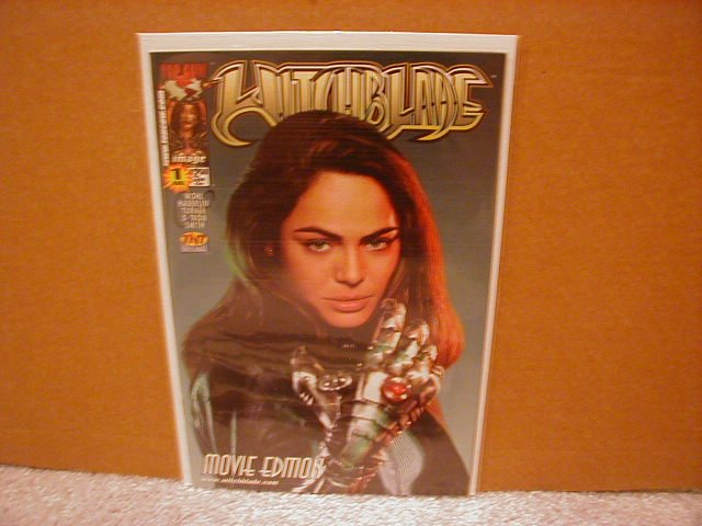 WITCHBLADE MOVIE EDITION #1 VF/NM   �PHOTO COVER�