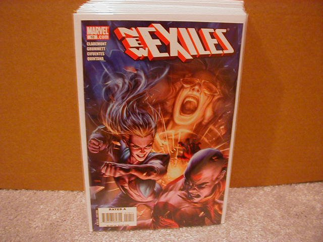 NEW EXILES #10 NM (2008)