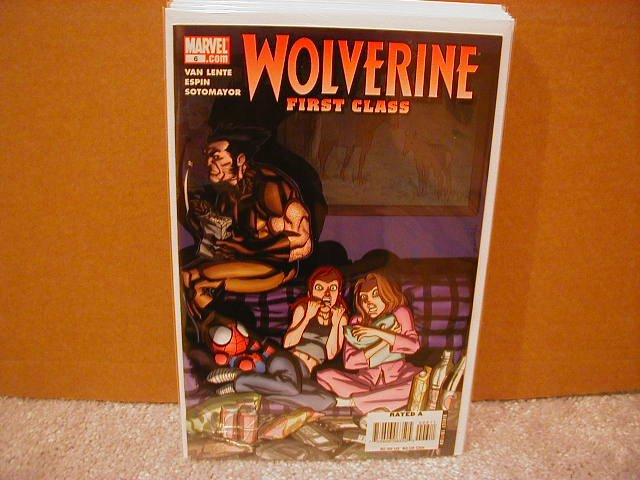 WOLVERINE FIRST CLASS #6 NM (2008)