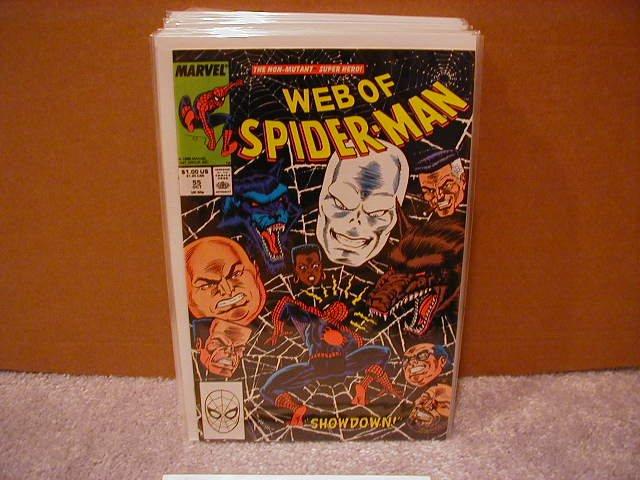WEB OF SPIDER-MAN #55 VF/NM