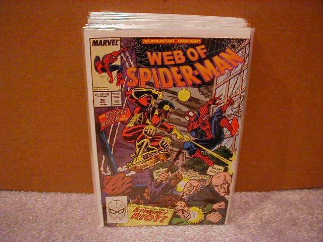 WEB OF SPIDER-MAN #56 VF/NM