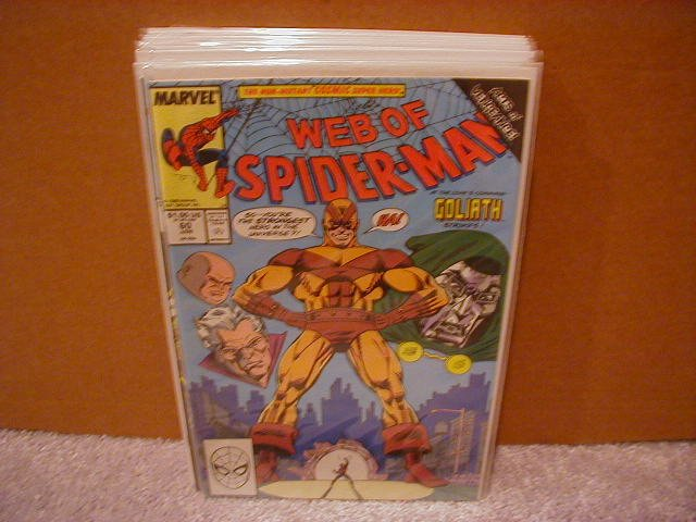 WEB OF SPIDER-MAN #60 VF/NM  *ACTS OF VENGEANCE* COSMIC SPIDER-MAN