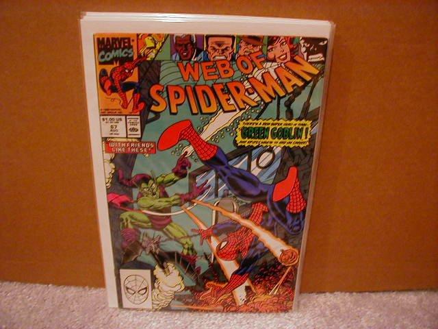WEB OF SPIDER-MAN #67 VF/NM
