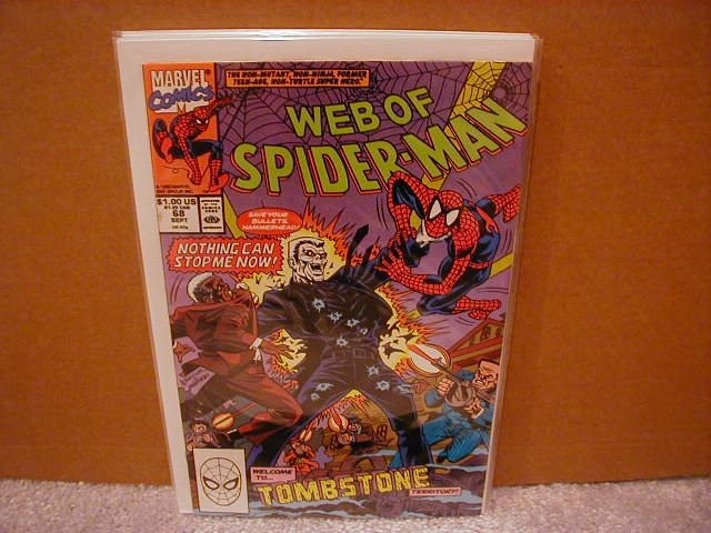 WEB OF SPIDER-MAN #68 VF/NM