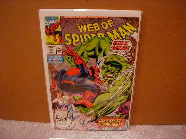 WEB OF SPIDER-MAN #69 VF/NM