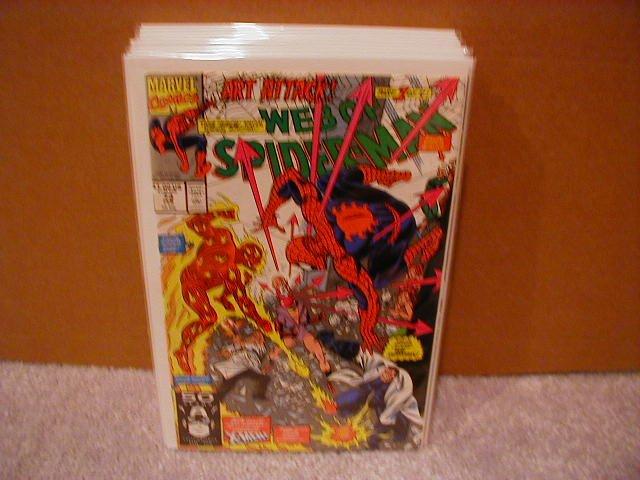 WEB OF SPIDER-MAN #73 VF-