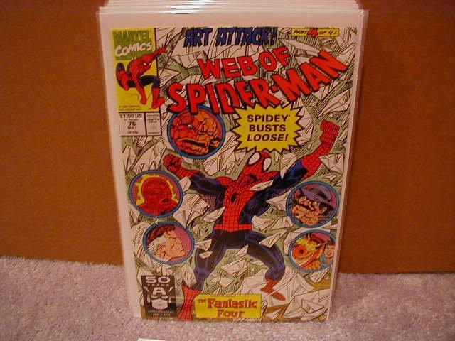 WEB OF SPIDER-MAN #76 VF/NM