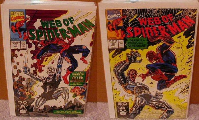 WEB OF SPIDER-MAN #79-80