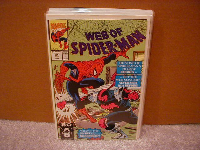 WEB OF SPIDER-MAN #81 VF/NM