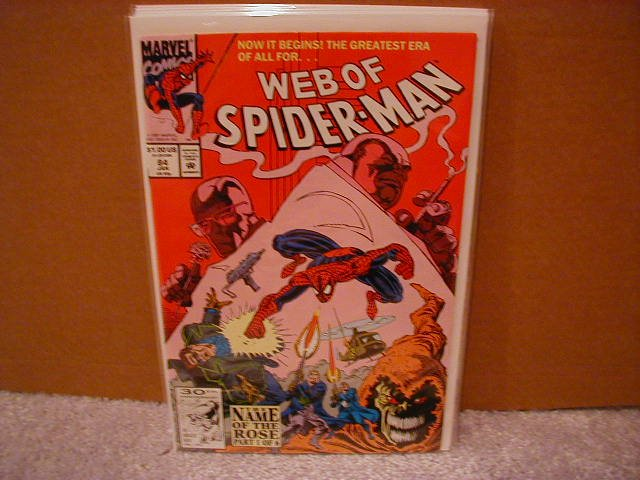 WEB OF SPIDER-MAN #84 VF/NM