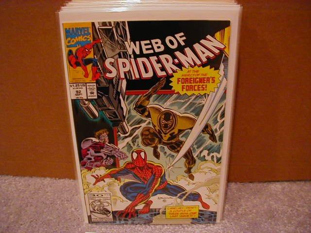 WEB OF SPIDER-MAN #92 VF/NM