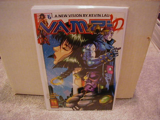 VAMPI #6 F/VF    *HARRIS COMICS*