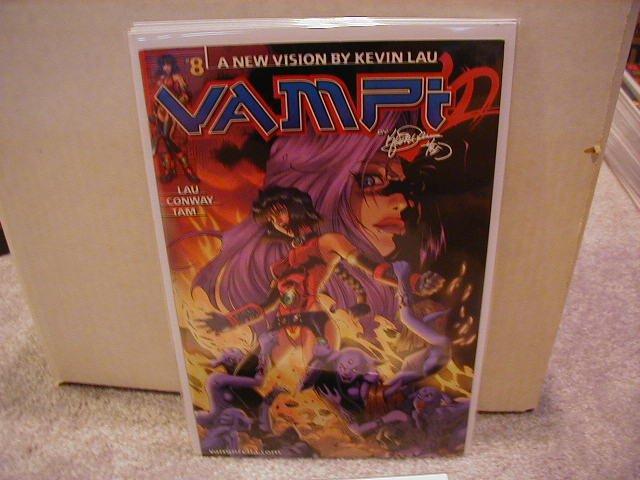 VAMPI #8 VF    *HARRIS COMICS*