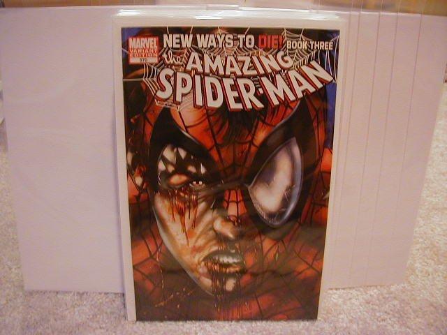 AMAZING SPIDER-MAN #570 NM (2008)