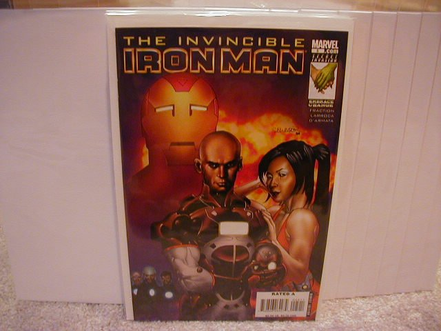 "INVINCIBLE IRON MAN #5 NM (2008)""A COVER"""