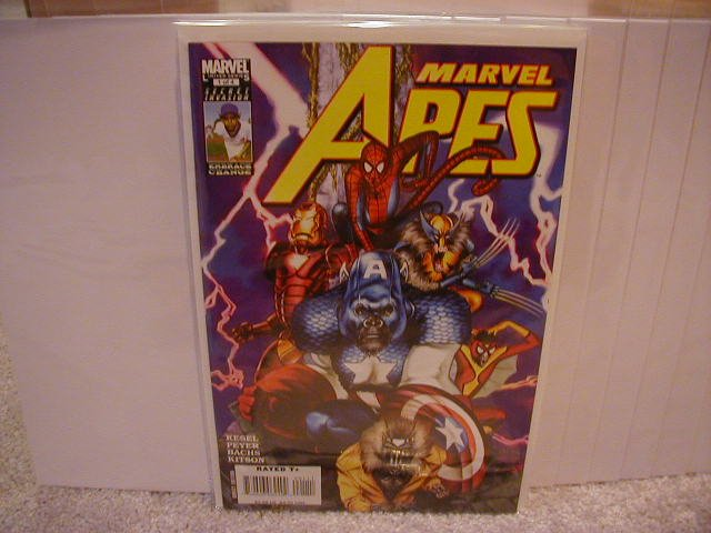 MARVEL APES #1 NM (2008)