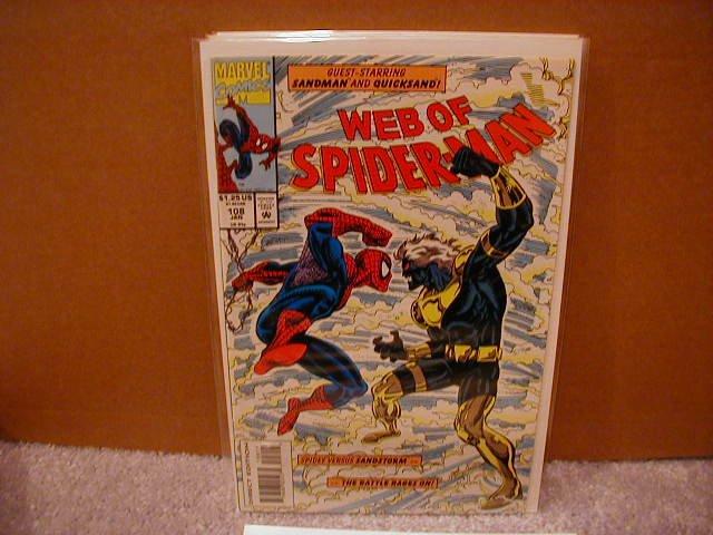 WEB OF SPIDER-MAN #108 VF/NM