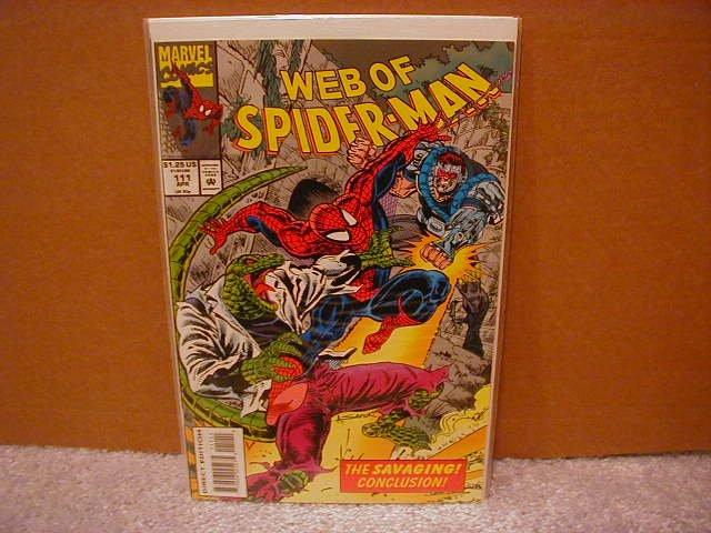 WEB OF SPIDER-MAN #111 VF/NM
