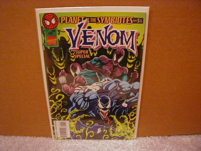 VENOM SUPER SPECIAL #1 PLANET OF THE SYMBIOTES VF/NM