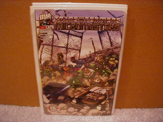 TRANSFORMERS MICROMASTERS #2 VF/NM   *DW*
