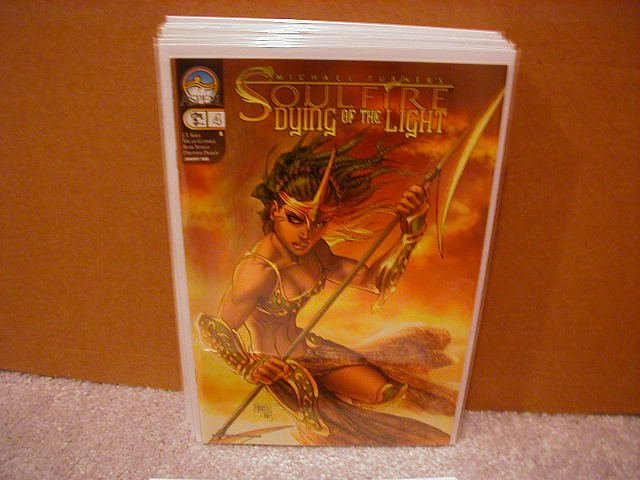 """SOULFIRE DYING OF THE LIGHT #4 """"A""""  MICHAEL TURNER *ASPEN*"""