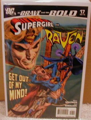 BRAVE AND THE BOLD #17 NM (2008) SUPERGIRL AND RAVEN