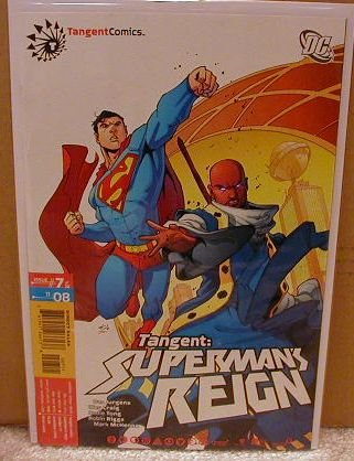 TANGENT SUPERMAN�S REIGN #7 NM (2008)