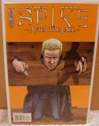 """SPIKE AFTER THE FALL #3 COVER """"B"""" (2008)"""