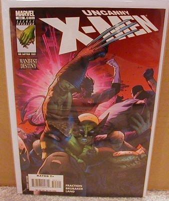 UNCANNY X-MEN #502 NM (2008)