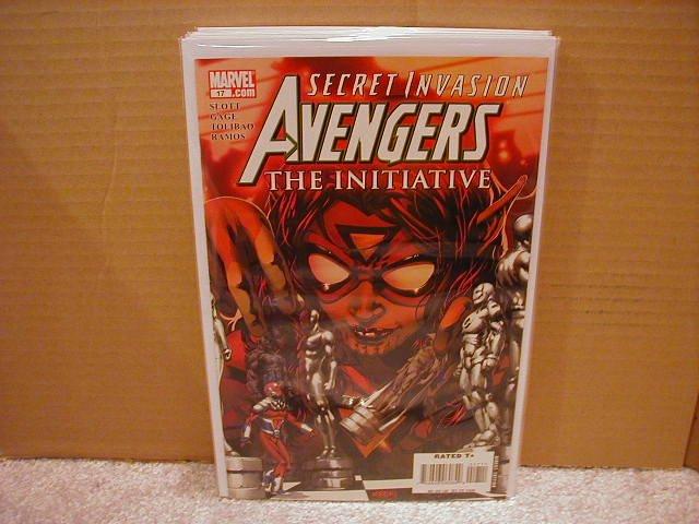 AVENGERS THE INITIATIVE #17 NM (2008)  *SECRET INVASION*