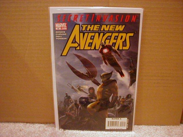 NEW AVENGERS #45 NM (2008) *SECRET INVASION*