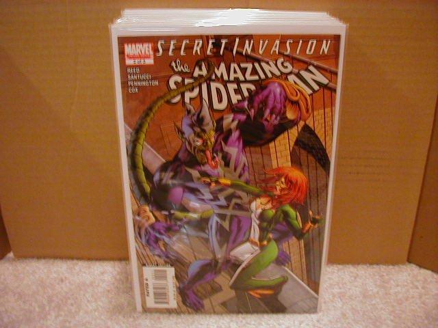SECRET INVASION AMAZING SPIDER-MAN #2 NM (2008)