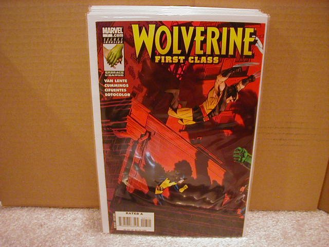 WOLVERINE FIRST CLASS #7 NM (2008)