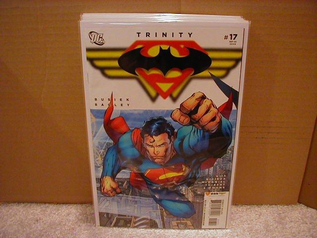 TRINITY #17 NM (2008) SUPERMAN, BATMAN, WONDERWOMAN