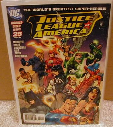 JUSTICE LEAGUE OF AMERICA #25 NM (2008) DOUBLE-SIZED ISSUE