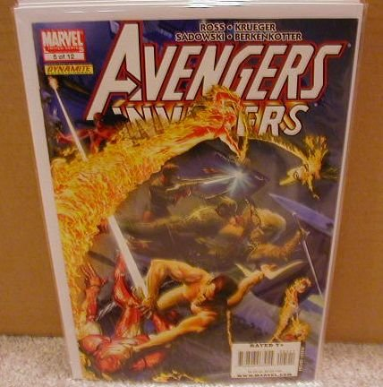AVENGERS INVADERS #5 NM (2008)
