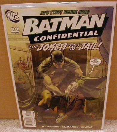 BATMAN CONFIDENTIAL #22 NM(2008) JOKER