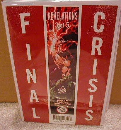 FINAL CRISIS REVELATIONS #3 NM (2008)  �A� COVER