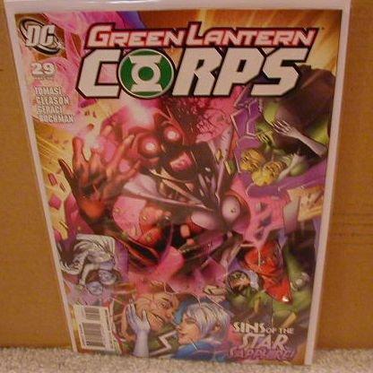 GREEN LANTERN CORPS #29 NM (2008)