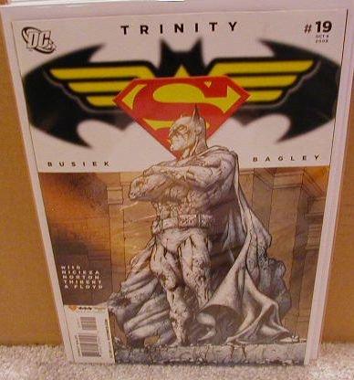 TRINITY #19 NM (2008) SUPERMAN, BATMAN, WONDERWOMAN