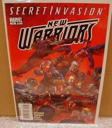 NEW WARRIORS #15  NM(2008) SECRET INVASION