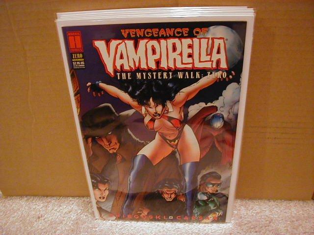 VENGEANCE OF VAMPIRELLA THE MYSTERY WALK: ZERO #0 VF/NM