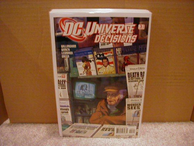 DC UNIVERSE DECISIONS #3 NM (2008)
