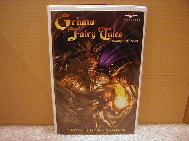 GRIMM FAIRY TALES BEAUTY AND THE BEAST  NM  *ZENOSCOPE*