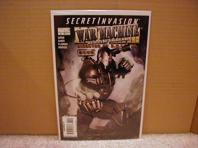 IRON MAN DIRECTOR OF SHIELD #34 NM (2008) SECRET INVASION- WAR MACHINE
