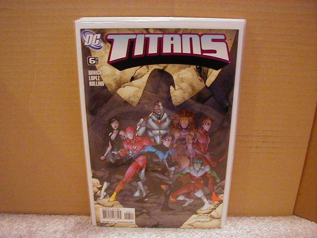 TITANS #6 NM (2008)